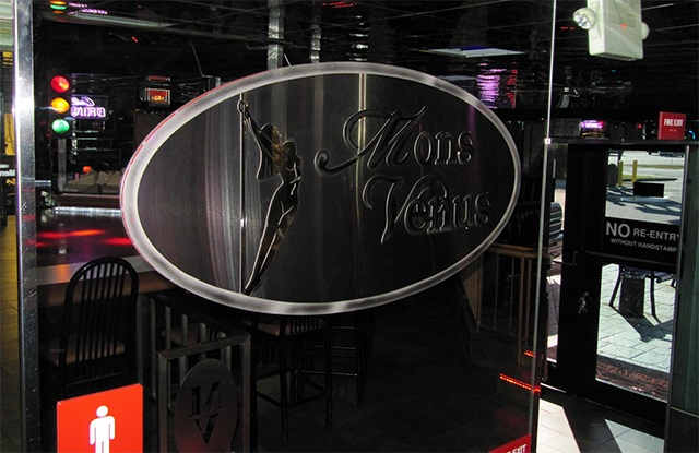 A peek of the Mons Venus club, courtesy of their Facebook page galleries